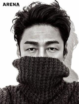 俳優チ・ジニ、写真公開。雑誌「ARENA Homme+」。