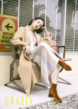 女優ユン・スンア、画報公開。GRAZIA。