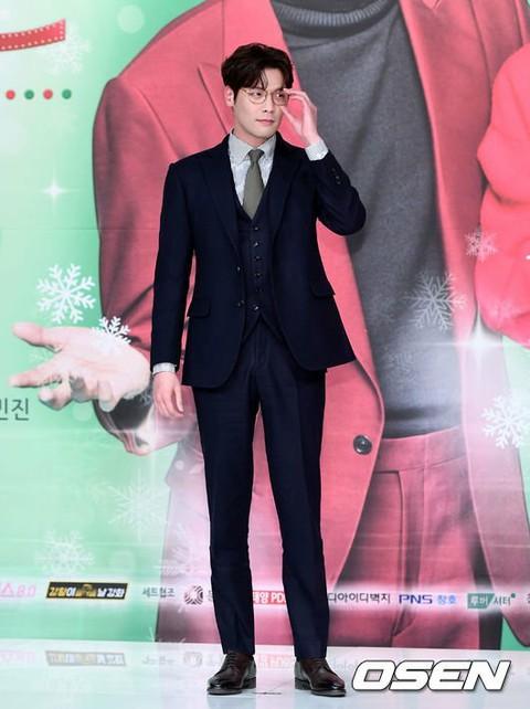 俳優チェ・ダニエル、KBS新月火ドラマ「ジャグラス‐秘書たち」制作発表会に出席。30日午後。TIMES SQUAREアモリスホール。
