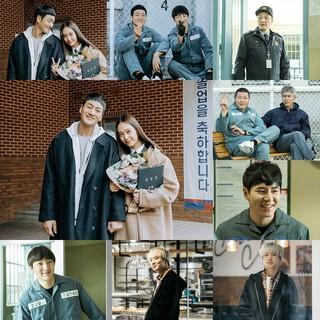 WINNER カン・スンユン パク・ヘス、tvNドラマ「賢い監房生活」ビハインドカット。