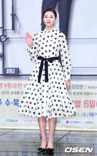 女優チェ・スビン、MBS新ドラマ「ロボットじゃない」制作発表会に出席。