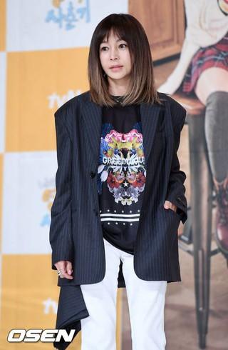 ファン・シネ、tvNバラエティ「私の英語思春期」制作発表会に出席。