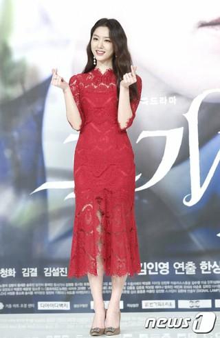 女優ソ・ジヘ、KBSドラマ「黒騎士(BLACK KNIGHT)」制作発表会に出席。5日午後。ソウルTIMES SQUAREアモリスホール。