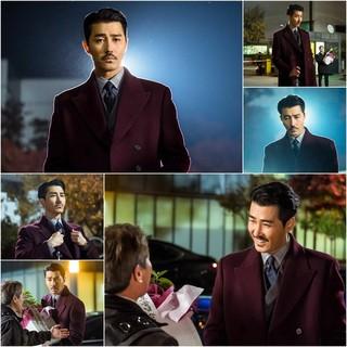俳優チャ・スンウォン、駐車場もランウェイにしてしまう独自のオーラ。tvN新土曜ドラマ「花遊記」、23日スタート。