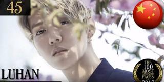 EXO 出身 Luhan、第45位。「2017年の最もハンサムな顔100」。米国の「TC Candler」が発表。