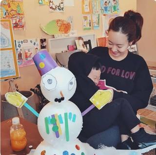 女優ソ・ユジン、SNS更新。愛する息子と一緒に。