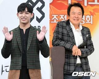 BTOB イム・ヒョンシク、父親で歌手のイム・ジフンと「2017MBC歌謡大祭典」でデュエットステージを披露。