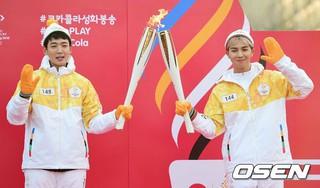 WINNER Mino、平昌冬季オリンピックの聖火リレー。次の走者は俳優チョン・ギョンホ 。