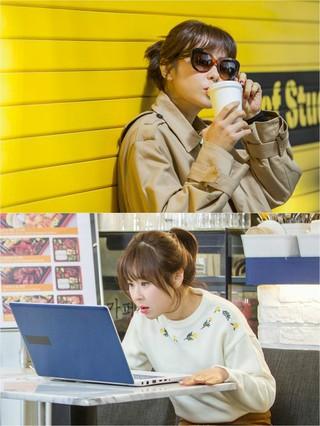 女優チェ・ガンヒ、KBS新水木ドラマ「推理の女王シーズン2」スチールカット。