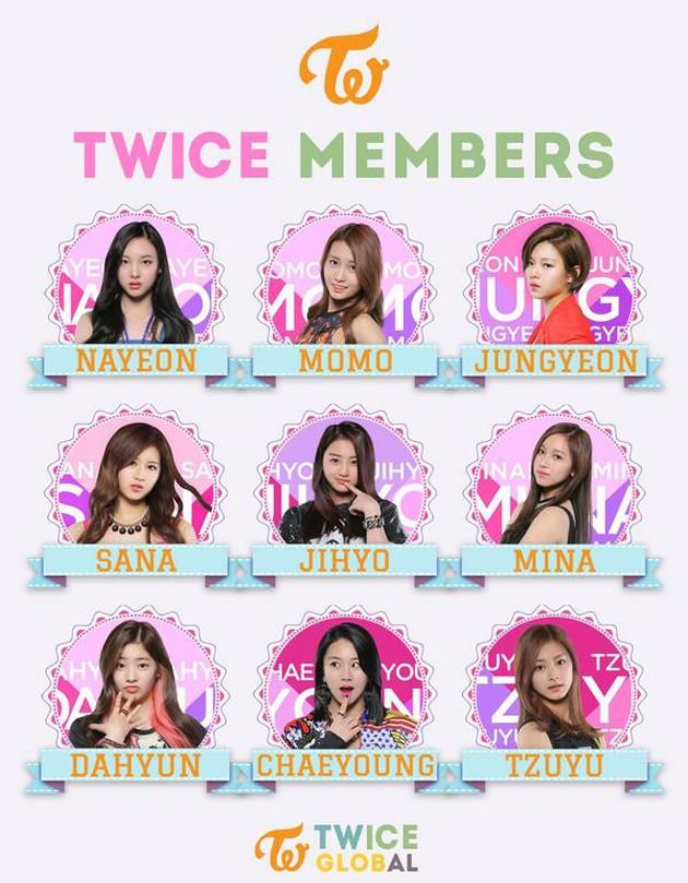 メンバー twice 人気