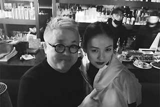 歌手イ・ヒョリ、新事務所のキム・ヒョンソクとツーショット写真を撮る♪