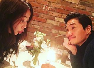俳優ユ・ジテ&女優キム・ヒョジン夫婦、変わらぬラブラブぶりで誕生日デート♪