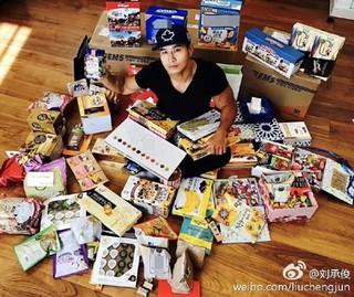 """""""兵役逃れ""""とされたユ・スンジュン、韓国のファンから届いたバレンタインプレゼントに感謝を伝える。"""