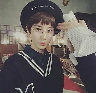 「少女時代」ソヒョン・・・ こんな姿は初めて?!破格的な男装姿を披露。