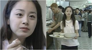 女優キム・テヒがソウル大学で仲間たちと学食を食べていた頃♪