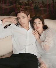 ピ♥キム・テヒ夫婦、新婚の雰囲気たっぷりのグラビアを公開。