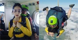 「Davichi」カン・ミンギョン、サンディエゴでスカイダイビングにチャレンジ!