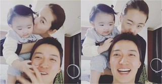 俳優イン・ギョジン♡女優ソ・イヒョン夫婦、娘ハウンちゃんとの幸せな日常を公開♪