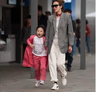 オム・テウンの娘ジオンちゃん・・・どんどんママに似ながら成長中♪
