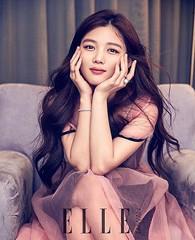 女優キム・ユジョン、「ELLE台湾」で魅せる春の女神ファッションがとっても素敵♡