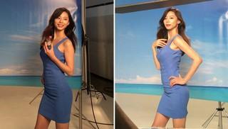 """出産からわずか6か月でCM撮影に復帰した""""ヨン様夫人""""パク・スジン♡"""