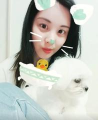 「少女時代」ソヒョン、愛犬と2人でセルカ三昧・・・人形のような飼い主と愛犬。