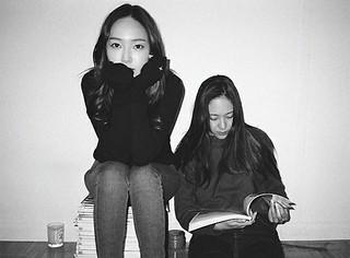 元「少女時代」ジェシカ&「f(x)」クリスタル姉妹、2人でオフを楽しむ♪