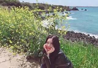 「Red Velvet」アイリーン、収録で訪れた済州島でヒーリング旅を楽しむ♪