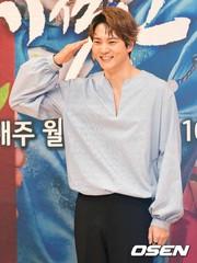 本日(5月16日)軍入隊を果たした俳優チュウォン、前日に行われたドラマ制作発表会での言葉。