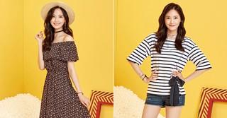 """「少女時代」ユナの""""大人カワイイ""""がいっぱい詰まった夏ファッション♪"""