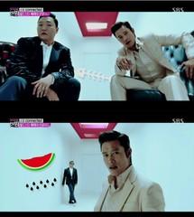 PSY新曲MV・・・イ・ビョンホンをキャスティングした理由とは?
