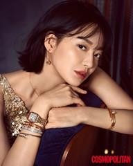 """女優シン・ミナ、美しさの秘訣は""""ストレスを受けないようにマインドコントロールすること"""""""