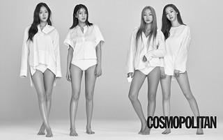 「SISTAR」、カムバックを前にメンバー全員揃ってファッション誌のグラビアに登場!