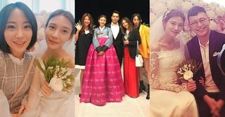 結婚式を挙げたチュ・サンウク♡チャ・イェリョン夫婦!参列者の顔ぶれもすごかった!?