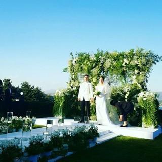あまりにも美しすぎたチュ・サンウク♡チャ・イェリョンの結婚式