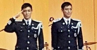 「BIGBANG」T.O.P、ソウル地方警察庁特技兵として服務に就く近況が公開される!
