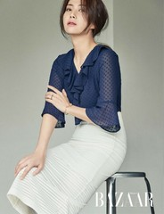 女優ソン・ユナ・・・レベルの違う?!優雅でシックな美しすぎるグラビア。