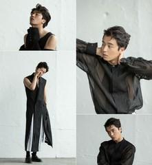 俳優ヨン・ウジン・・・致命的なまなざしの魅惑的な男に変身。