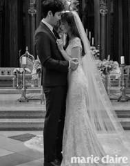 イ・サンウ♡キム・ソヨン夫婦の結婚式に参列したスターも凄かった!