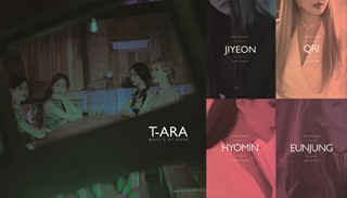 「T-ARA」、メンバー別の限定版アルバムをリリース!予約販売がスタート!