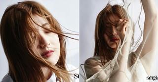 「怪しいパートナー」で人気の女優ナム・ジヒョン、ファッション誌で新たな魅力を見せる!