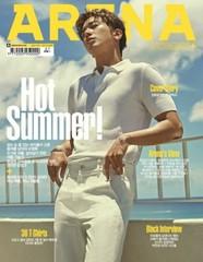 "「CNBLUE」ジョン・ヨンファ、雑誌の表紙で見せた""小麦色の肌""に目がクラクラ。"