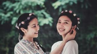 キム・オクビン×チェ・ソジン姉妹・・・なんともそっくりな美貌の姉妹。