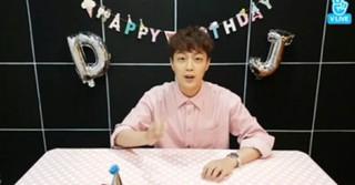 """「Highlight」ユン・ドゥジュン、誕生日を迎え""""食べる放送""""を進行!~お母さんの手料理と共に~"""