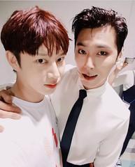 「SJ」キム・ヒチョル&「東方神起」ユンホが変わらぬ友情を見せる♪