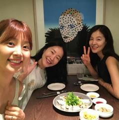 韓国芸能界を代表する仲良し三姉妹♪ハン・ジヘ&キム・ソンウン&オム・ジウォン