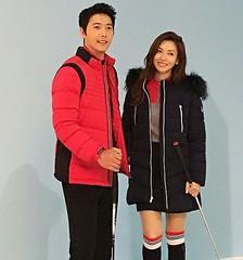 新婚もラブラブ!イ・サンウ♡キム・ソヨン夫婦の冬ファッショングラビアが公開♪