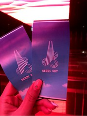 【韓国観光】ロッテワールドタワー SEOUL SKYからソウルの夜景に懐かしさ蘇る!
