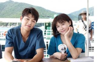 ハ・ジウォン&「CNBLUE」カン・ミンヒョク・・・ドラマ「病院船」の撮影のため島生活中~!