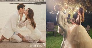 結婚を控えるソン・ジェヒ♡チ・ソヨンカップルのウェディンググラビアが公開!